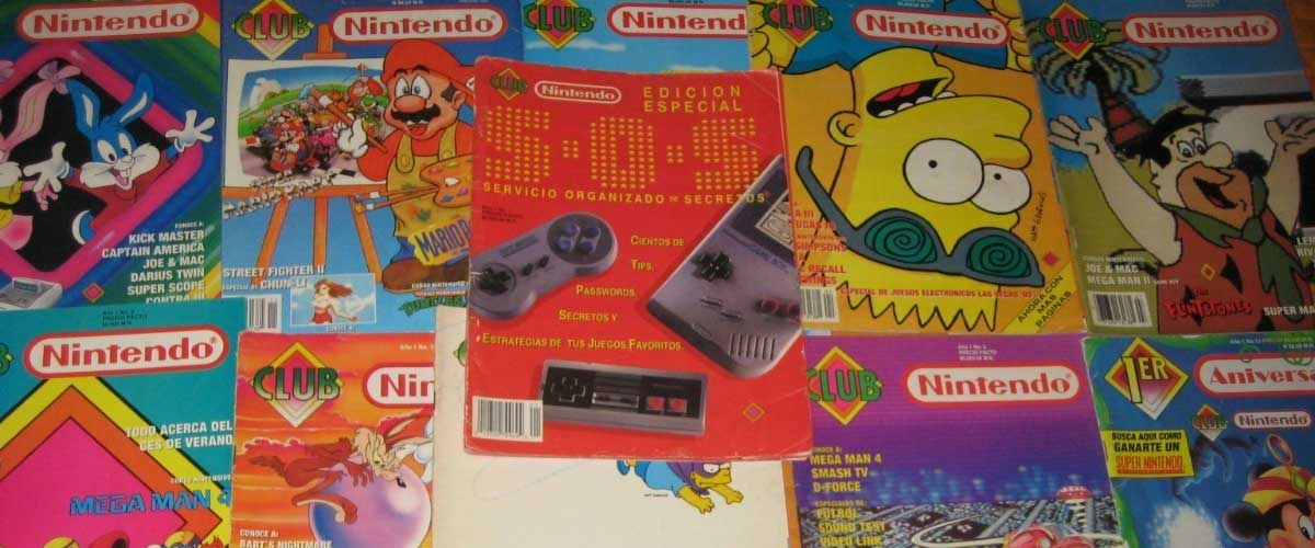 «Nuestra revista»; Club Nintendo – Parte I