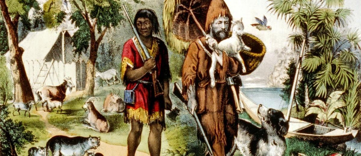 Libros: Robinson Crusoe
