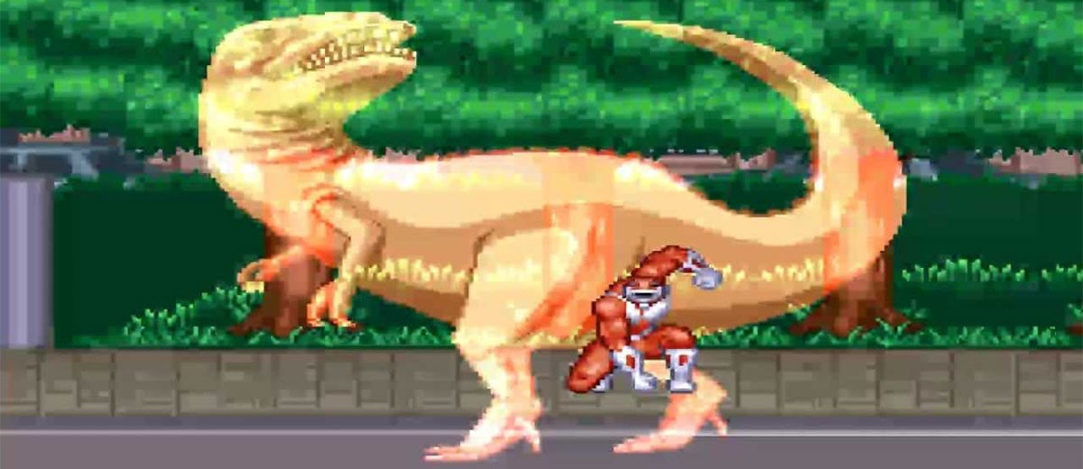 Mighty Morphin Power Rangers (SNES) Review – The 16Bit Hero