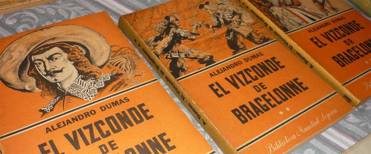 Libros: El Vizconde de Bragelonne