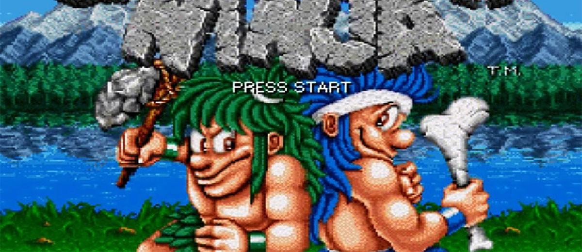 Joe and mac; caveman ninja (Arcade) Review- Mr. Yeux