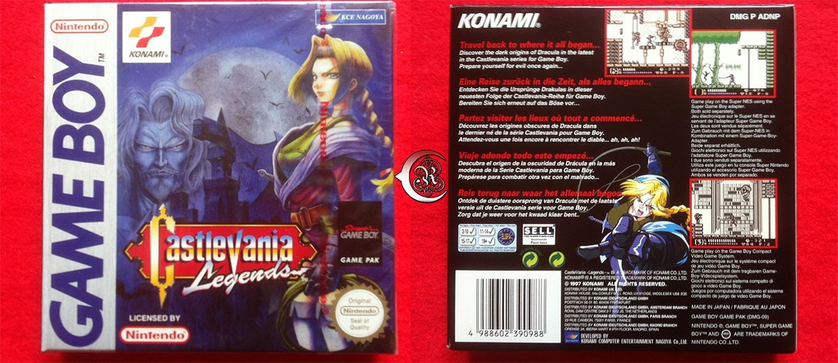 Castlevania; Legends(Game Boy)Review – Mr. Yeux