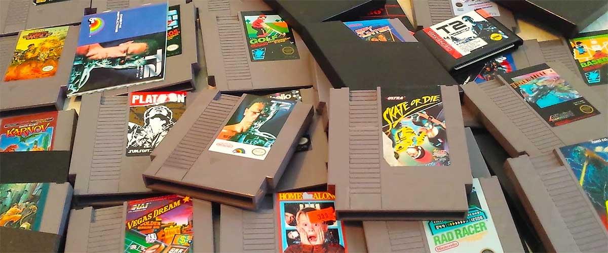 A seguir coleccionando juegos retro