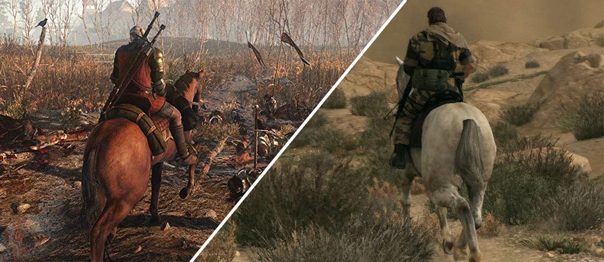 Duelo de mundos abiertos de 2015: Metal Gear Solid V vs The Witcher 3 vs Fallout 4