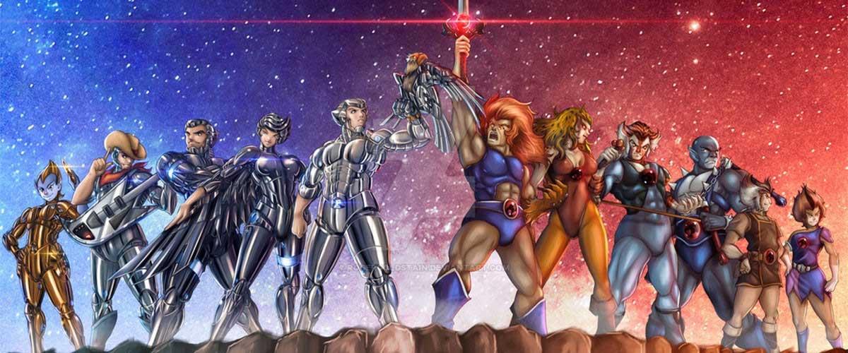 Duelo de caricaturas ochenteras: Thundercats vs Los Halcones Galácticos