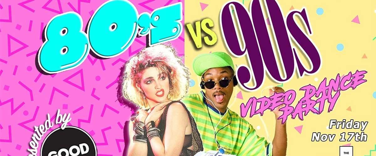 Duelo de décadas: 80s vs 90s