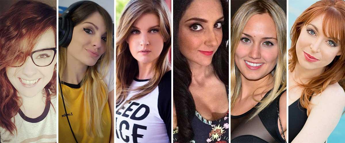 Las seis nerds más sexys del internet – Edición 2018