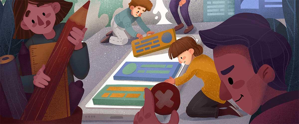 Vidas de papel: Ilustraciones y dibujo