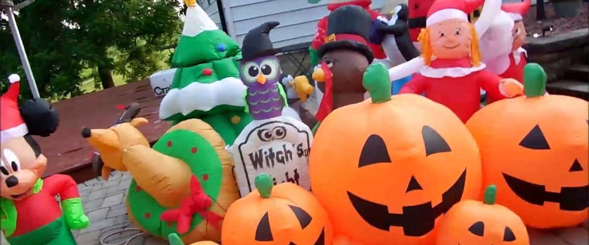 El último trimestre del año, Halloween, Navidad, Año Nuevo y más