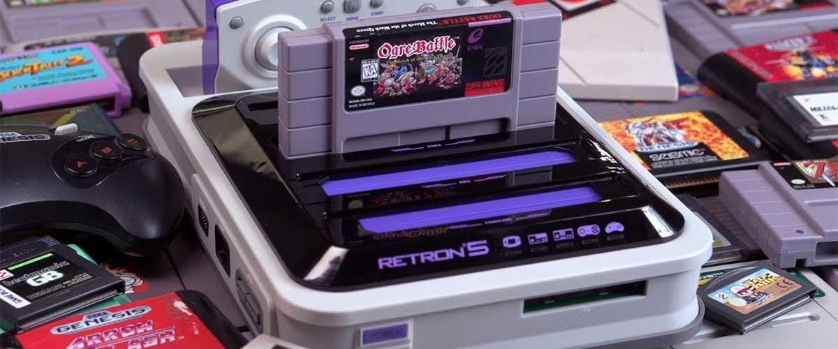 RetroN 5, juegos retro para el que no tiene espacio