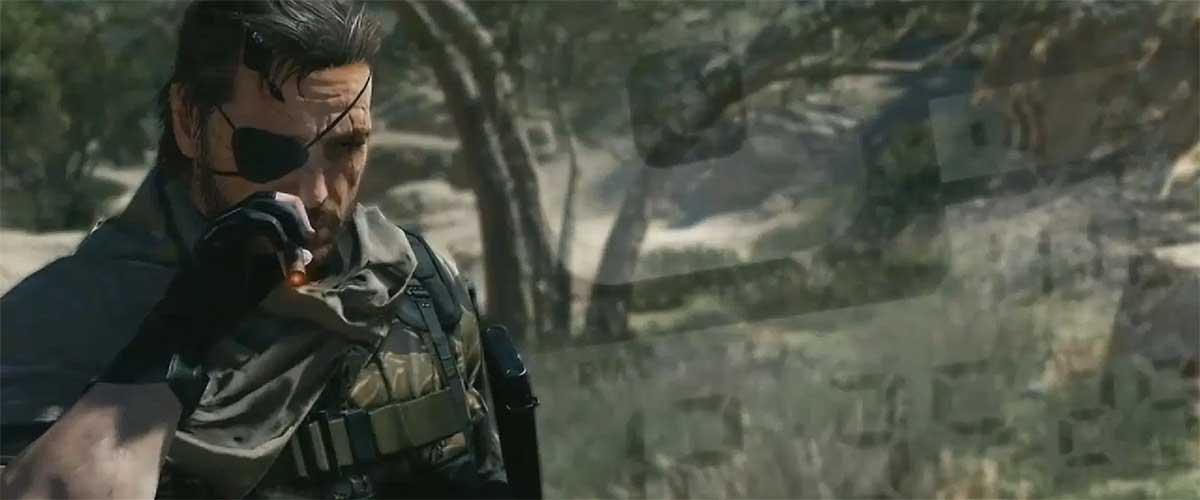 A primera vista así está Metal Gear Solid V: The Phantom Pain