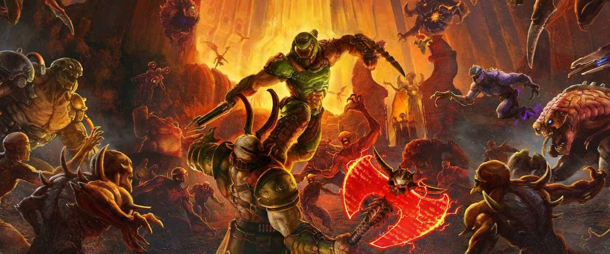 Doom 2016 y Doom Eternal están (un poquitín) sobrevaluados