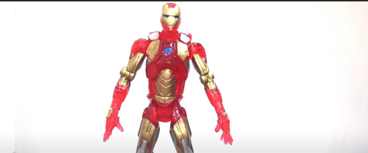 Iron Man PIRATA | Unboxings Chidos 013