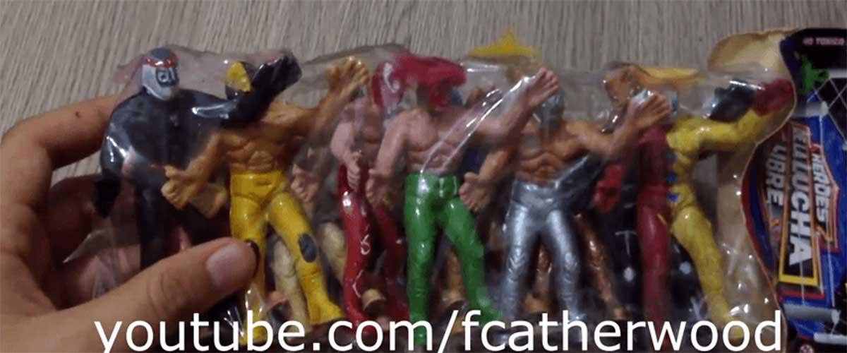 Heroes de la lucha libre – Unboxings Chidos 001