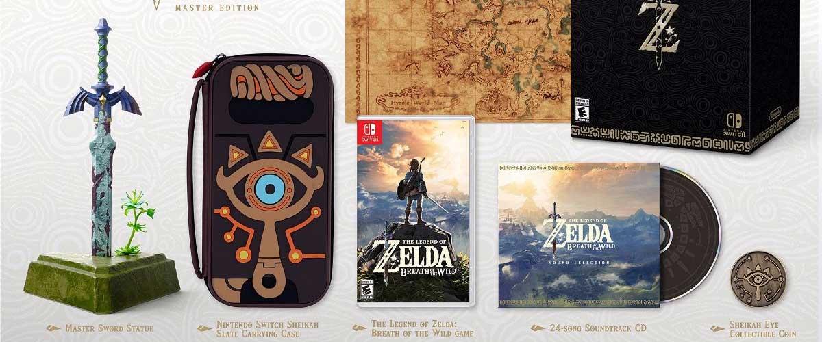 La Master Edition de The Legend of Zelda Breath of the Wild