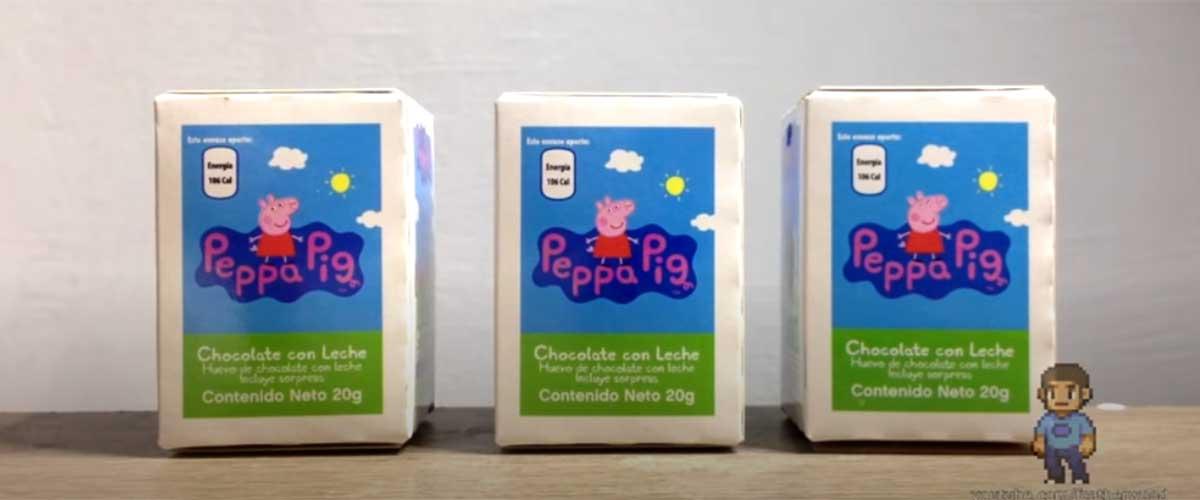 Kinder Sorpresa PIRATA | Peppa Pig | Unboxings Chidos 015