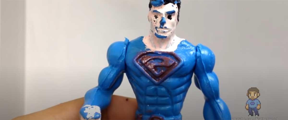 Superman PIRATA   Unboxings Chidos 012