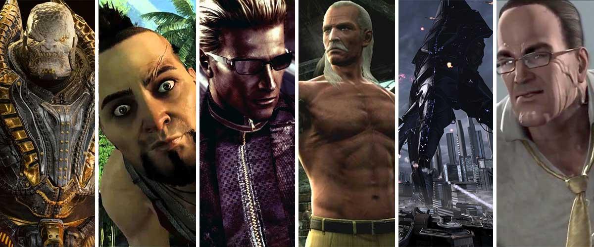 Seis villanos geniales de la generación Xbox 360 y Playstation 3