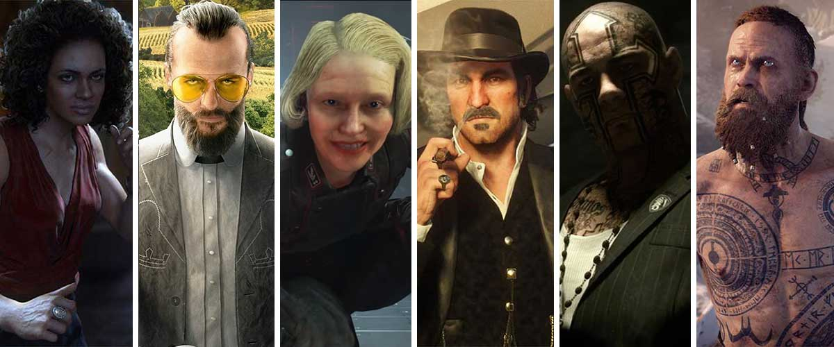 Seis villanos que definieron la generación Xbox One – Playstation 4