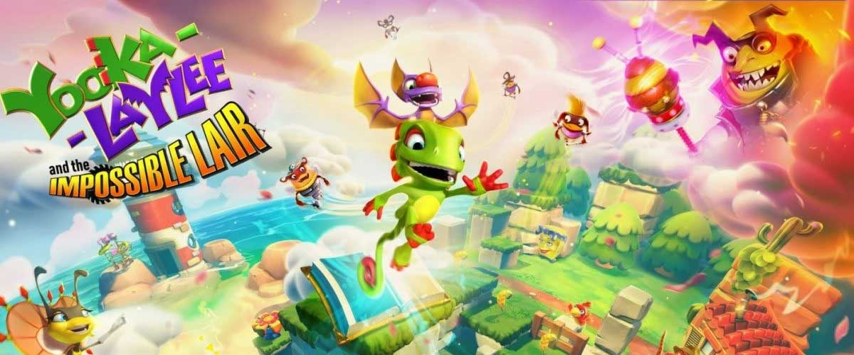 ¡Yooka-Laylee and the Impossible Lair ya está disponible!